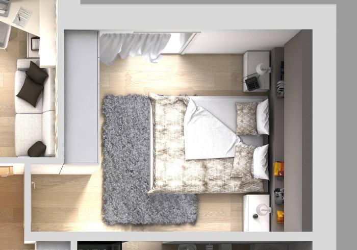 Arredare Camera Da Letto Stretta : Camera da letto lunga e stretta cameretta per tre with camera da